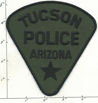 TUCSON, AZ  POLICE  - SUBDUED FOR SWAT Patch