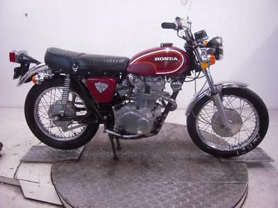 1972 Honda CL450K5 Unregistered US Import Barn Find Classic Restoration Project