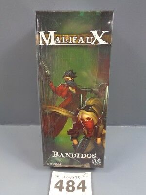 Wargaming Malifaux The Outcasts Bandidos Clearance 484