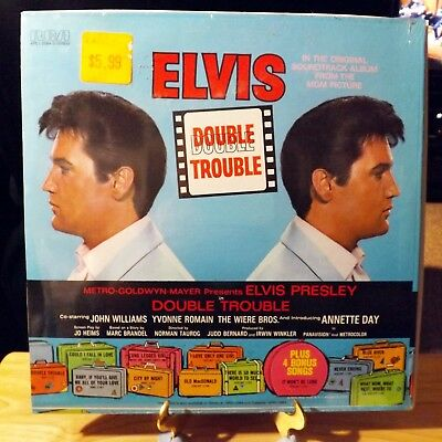 Elvis Presley - Double Trouble - Rca Apl1-2564 Stereo Lp - Still Sealed