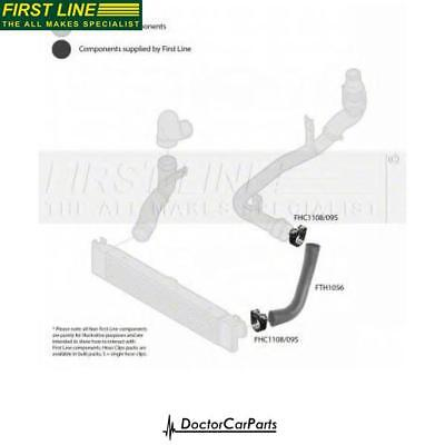 Turbo Hose Pipe Front/Left/Lower for PEUGEOT BOXER 2.2 06-on P22DTE HDI FL