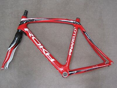 Pinarello Rokh Carbon Road Bike Frame & Fork Set 10/11 Spd,med 54Cm,race,ultegra