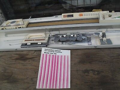 vintage brother knitting machine KH-710 located coventry