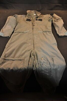Coveralls Flyer's Summer Fire Resistant 42R Flight Suit CWU-27/P Sage Green A101