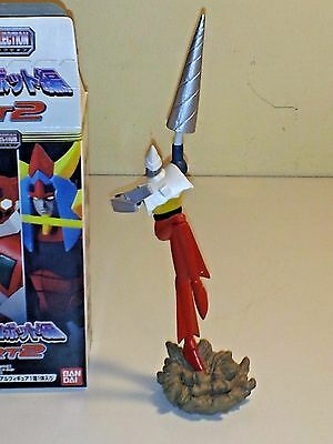 """Super Robot Best Posing Collection """"getter 2 Two"""" Trading Figure Gashapon Bandai"""