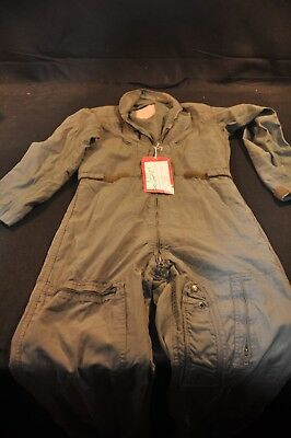 Coveralls Flyer's Summer Fire Resistant 38L Flight Suit CWU-27/P Sage Green A104