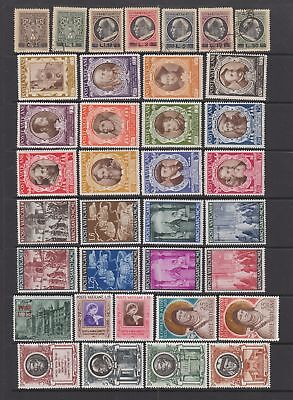 Vatican 1946- 1954 collection , 63 stamps , MH or fine used