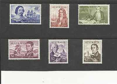 Sg398-403 Australia Navigators Umm Set Of High Values