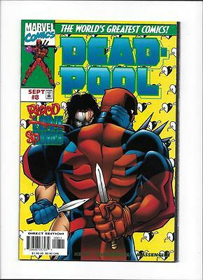 "Dead-Pool #8  [1997 Fn]  ""blood Spurts"""