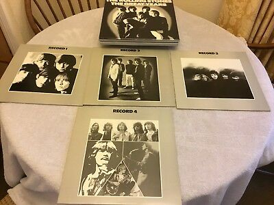 "The Rolling Stones Box Set "" The Greatest Years "" X 4 Vinyl Records"