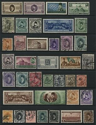 Selection of 69x different stamps from Egypt as shown (KS03)