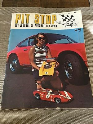 Vintage 1/8 Pit Stop Rc Magazine May 1971 Best Issue Kyosho Dynamic Mce Rare