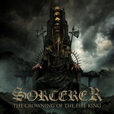 SORCERER - The Crowning of the Fire King  DLP  BLACK