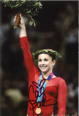 Olympiasiegerin 2004: Carly Patterson USA