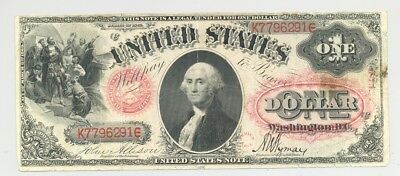 $1 Series 1875 Fr. 26 United States Note nice condition rare type and Fr. number