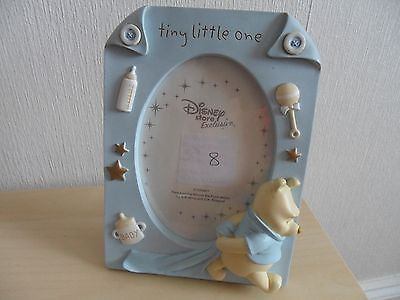 """Disney's Winnie The Pooh """"TINY LITTLE ONE""""New Baby Muscial Picture/Photo frame"""