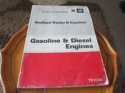 Workshop Manual For Bedford Truck And Coaches. Diesel Engines