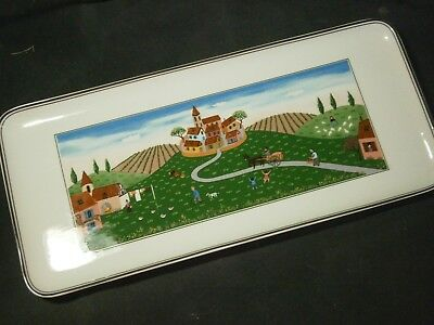"13"" Rectangular Villeroy & Boch Design Naif Tray"