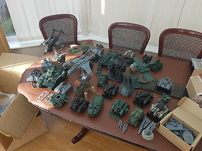 Warhammer 40k Many many tanks and planes and things....enjoy