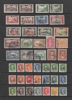 Iraq early collection , 63 stamps.