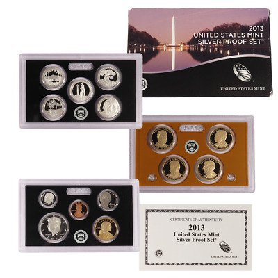 2013-S U.S. Silver Proof Set