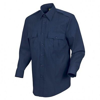 Class A Shirt Police Security EMT L/S M 15-15.5 32/33 761MNV Liberty Polyester