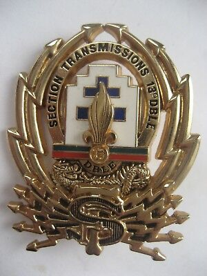 French Foreign Legion  13 Dble.transmissions Section Badge.(Signals)