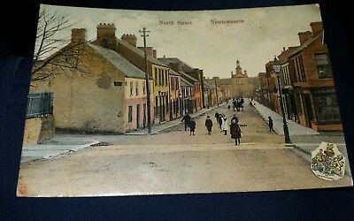 North  Street Newtownards County Down Postcard