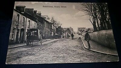 Rathfriland Newry  Street  County Down Postcard