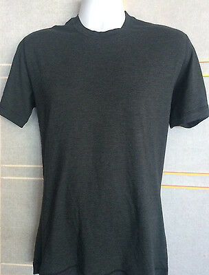NWT Men's Lululemon 5 YEAR Basic Tee Size S Heathered Black