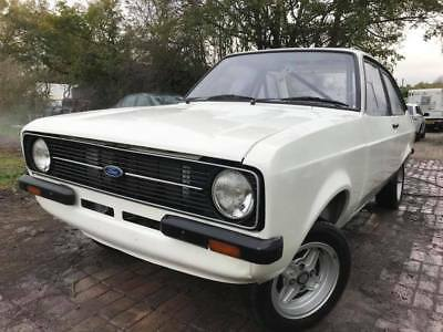 Ford Escort Mk2 race rally project