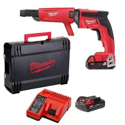 Milwaukee M18FSGC-202X 18v 2x2ah Drywall Screwgun with Collated Attachment