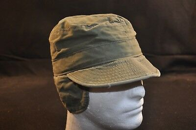 Korean War US Army Cap Field Cotton OD w/ Visor 1951 MASH Size 7 Great Cond #2