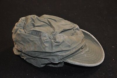 Korean War US Army Cap Field Cotton OD w/ Visor M1951 MASH Size 6 3/4 Great #5