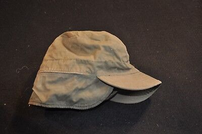 Korean War US Army Cap Field Cotton OD w/ Visor M1951 MASH Size 6 3/4 Good #13