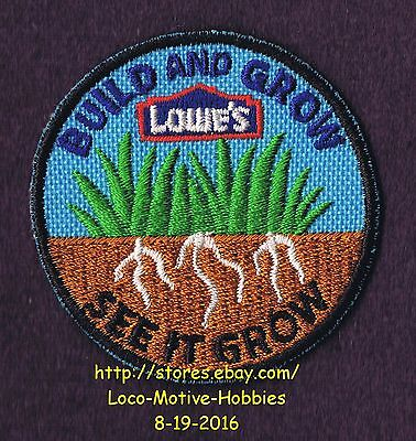 LMH Patch TEN (10) 2010 SEE IT GROW Build Grow LOWES Kids Clinic Grass Roots LOT