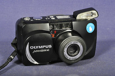 Olympus Mju Zoom 140 / Sucherkamera Range Finder Camera