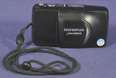 Olympus Mju Zoom 105 Black / Sucherkamera Range Finder Camera 38-105mm