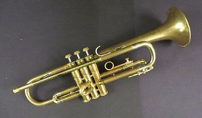 1958 Olds Ambassador Trumpet w/ OHSC Great Patina, Completely Serviced