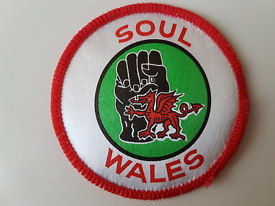 Soul Wales Vintage Patch Scooter Northern Soul Mods