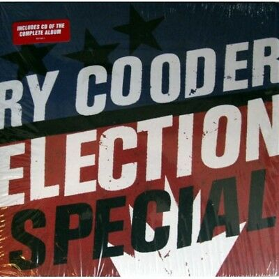 "RY COODER Election Special 2012 Lp+Cd vinilo 12"" MINT"