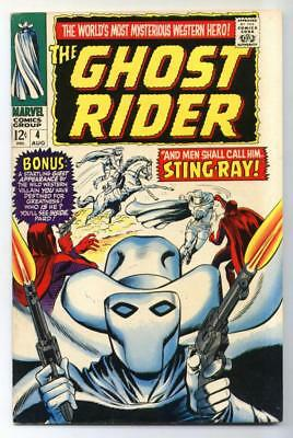 Ghost Rider #4 (Dick Ayers) Silver Age-Marvel Comics FN/VF   {Randy's Comics}