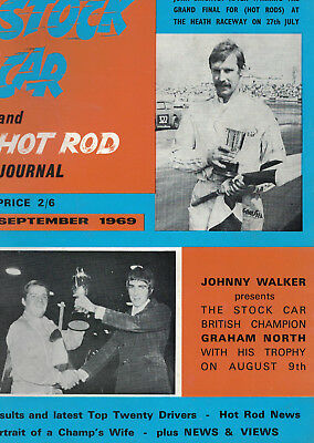 Stock Car & Hot Rod Journal  excellent condition  FOUR issues  late 1960s vgc