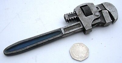 "6"" Record Stillson Monkey Wrench Sheffield England Garage Workshop Lathe DIY"
