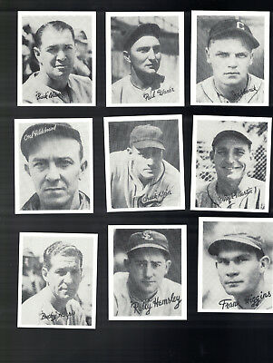 1936 Goudey Baseball  Complete Reprint Baseball Set X 25 Loaded With Big Stars