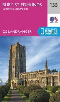 Bury St Edmunds, Sudbury & Stowmarket by Ordnance Survey 9780319262535