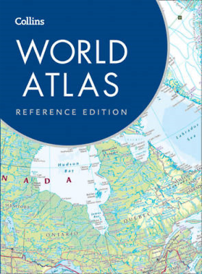 Collins World Atlas: Reference Edition, Collins Maps, Used; Good Book