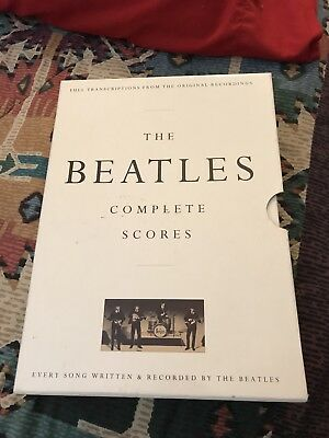 The Beatles Complete Scores Guitar Hardcover Book