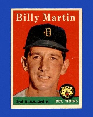 1958 Topps Set Break #271 Billy Martin EX-EXMINT m27443