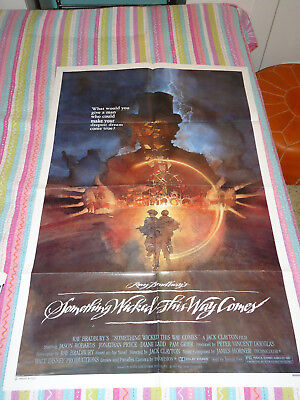 """Something Wicked This Way Comes 1983 Original Movie Theater Poster 27x40"""""""